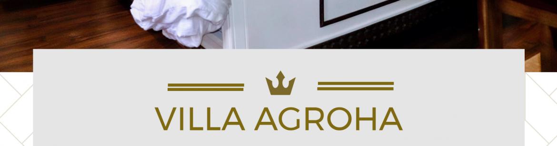 Villa Agroha Open Poster